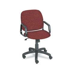 recycled-materials-swivel/tilt-chair-in brguandy