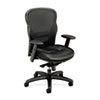 Mesh and Leather High-Back Task Chair