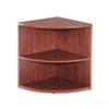 Two Shelf Round Bookcase End
