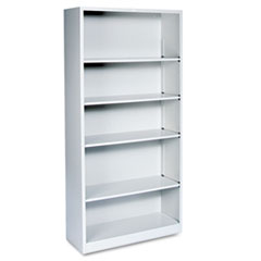 Metal Bookcase with 5 shelves